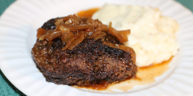 Skillet Salisbury Steak with Mashed Potatoes